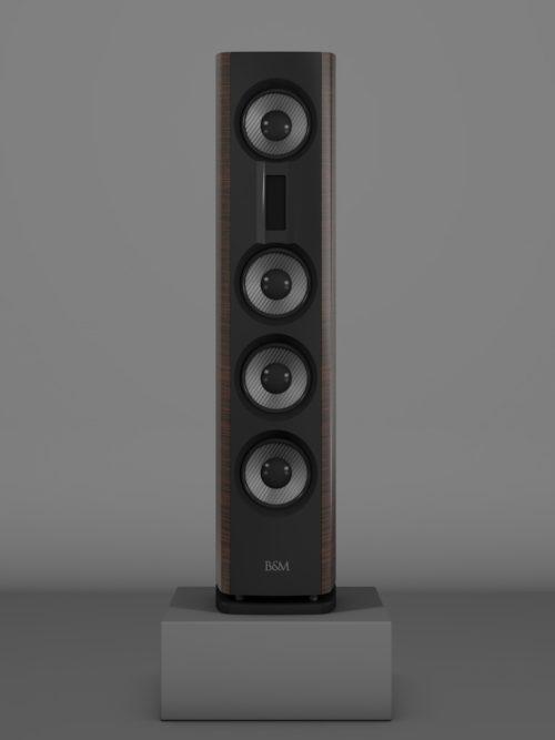 Prime14 - Awong Wenge Medium gloss - FFD Negro Intenso - Front