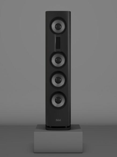 Prime14 - Negro Intenso Medium gloss - FFD Negro Intenso - Front
