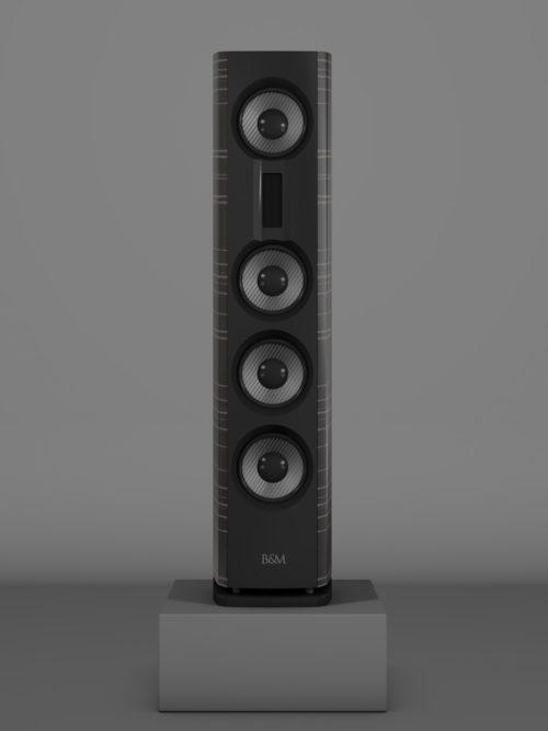 Prime14 - Ebenholz Grigio medium gloss - FFD Negro Intenso - Front
