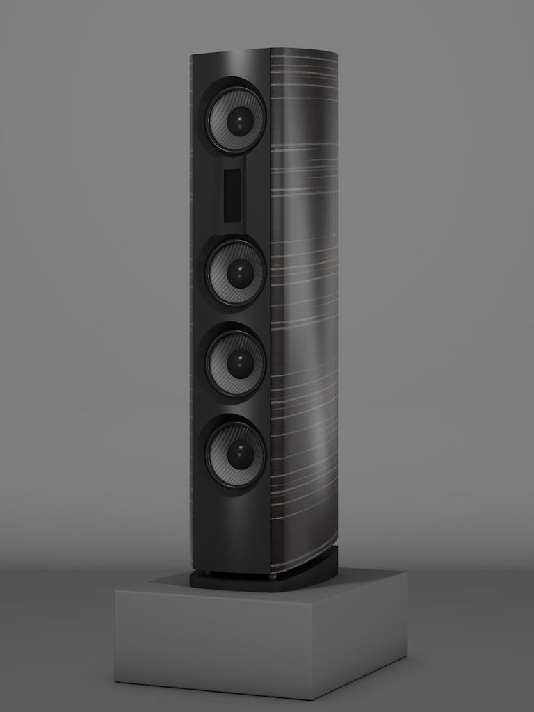 Prime14 - Ebenholz Grigio Medium gloss - FFD Negro Intenso - Side