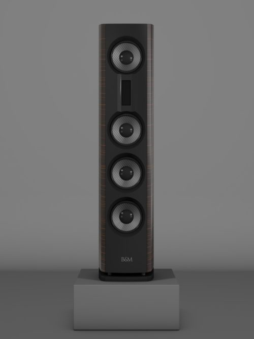 Prime14 - Ebenholz Moro medium gloss - FFD Negro Intenso - Front