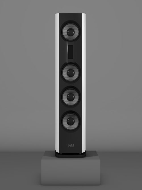 Prime14 - Bianco Crema Medium gloss - FFD Negro Intenso - Front