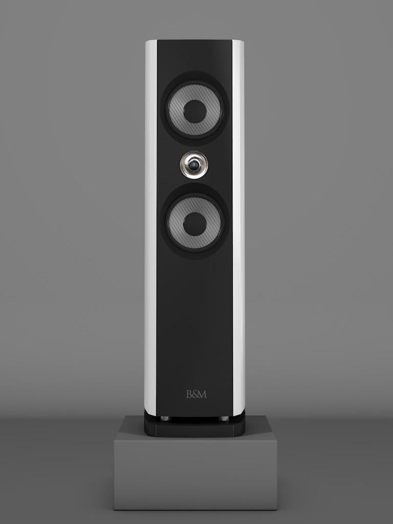 Prime6 - Bianco Crema Medium gloss - HT Silber - FFD Negro Intenso - Front