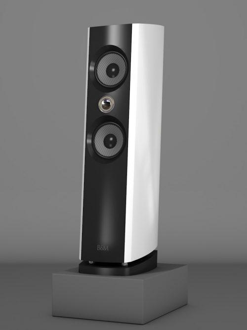 Prime6 - Bianco Crema Medium gloss - HT Silber - FFD Negro Intenso - Side