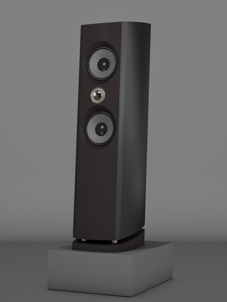 Prime6 - Negro Intenso - FFD Nextelgrau - HT Silber - Side