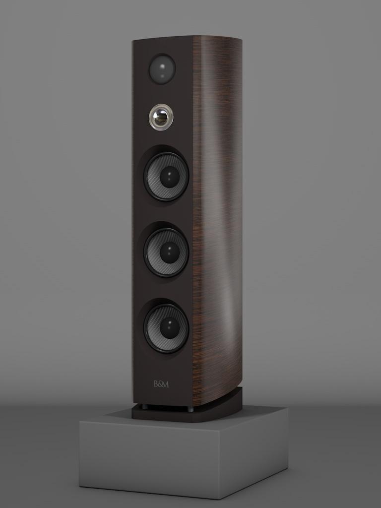 Prime12 - Awong Wenge Medium gloss - HT Silber - FFD Nextelgrau - Side