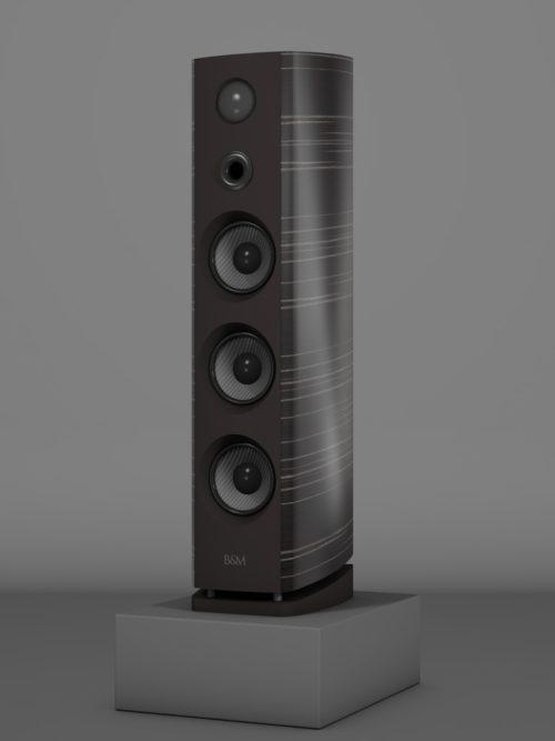 Prime12 - Ebenholz Grigio medium gloss - HT Schwarz - FFD Nextelgrau - Side