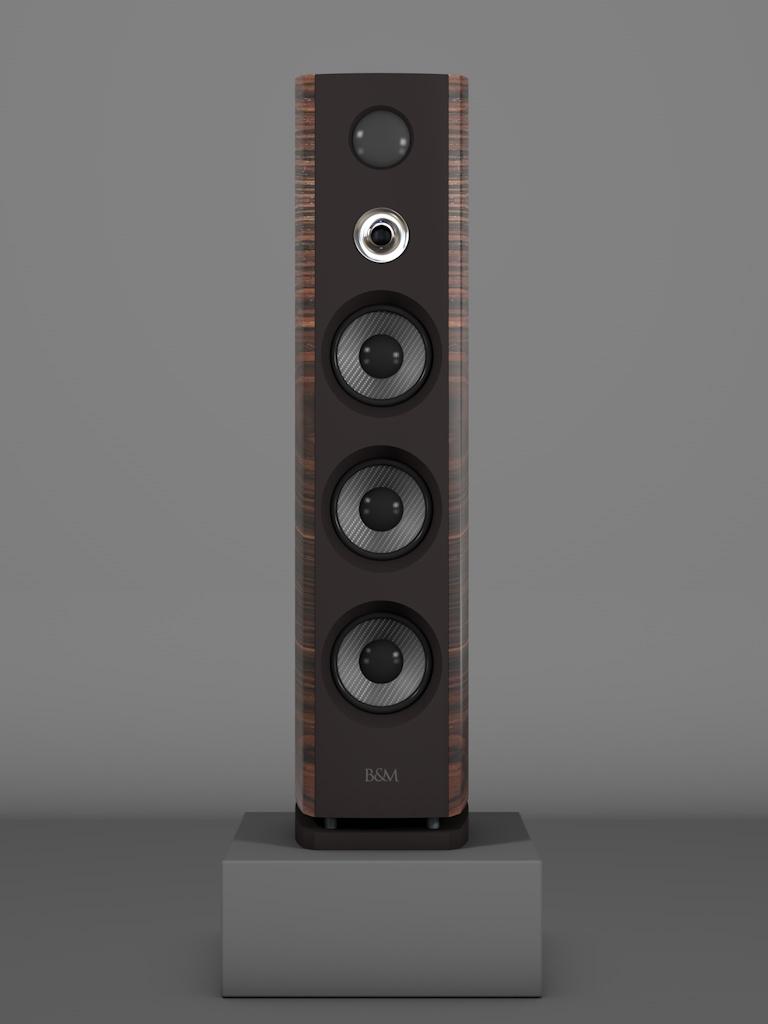 Prime12 - Macassar tricolore medium gloss - HT Silber - FFD Nextelgrau - Front