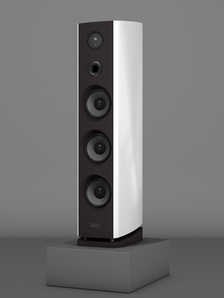 Prime12 - Bianco Crema - HT Schwarz - FFD Nextelgrau - Side