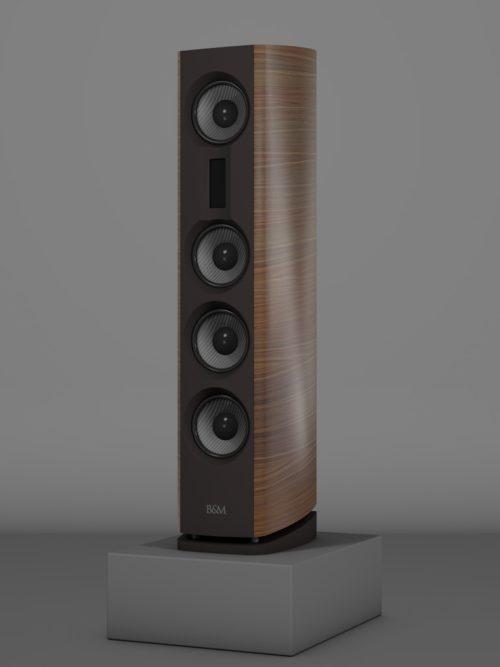 Prime14 - Amerikanischer Nussbaum Medium gloss - FFD Nextel - Side