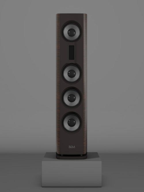 Prime14 - Awong Wenge medium gloss - FFD Nextelgrau - Front