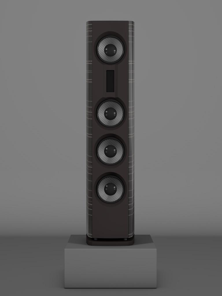 Prime14 - Ebenholz Grigio medium gloss - FFD Nextelgrau - Front