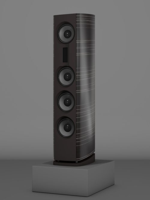 Prime14 - Ebenholz Grigio Medium gloss - FFD Nextel - Side