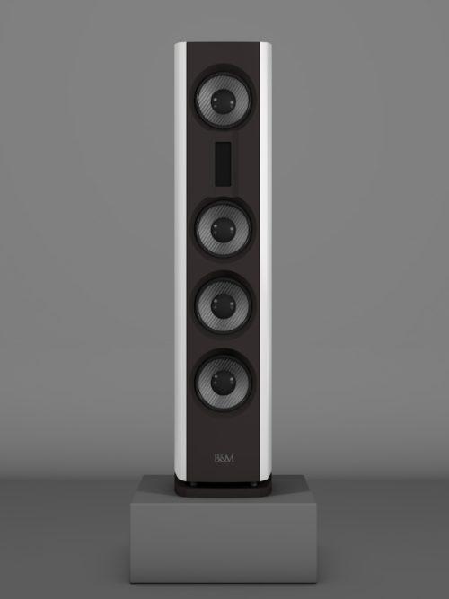 Prime14 - Bianco Crema medium gloss - FFD Nextelgrau - Front