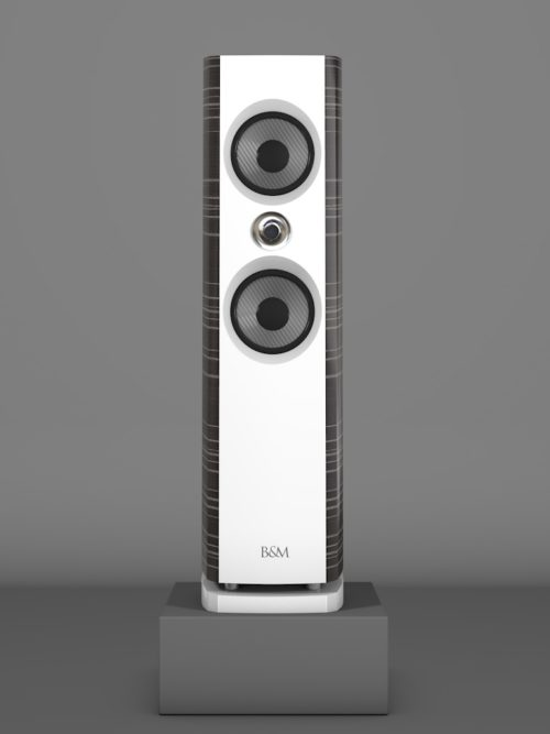 Prime6 - Ebenholz Grigio medium gloss - FFD Bianco Crema - HT Silber - Front