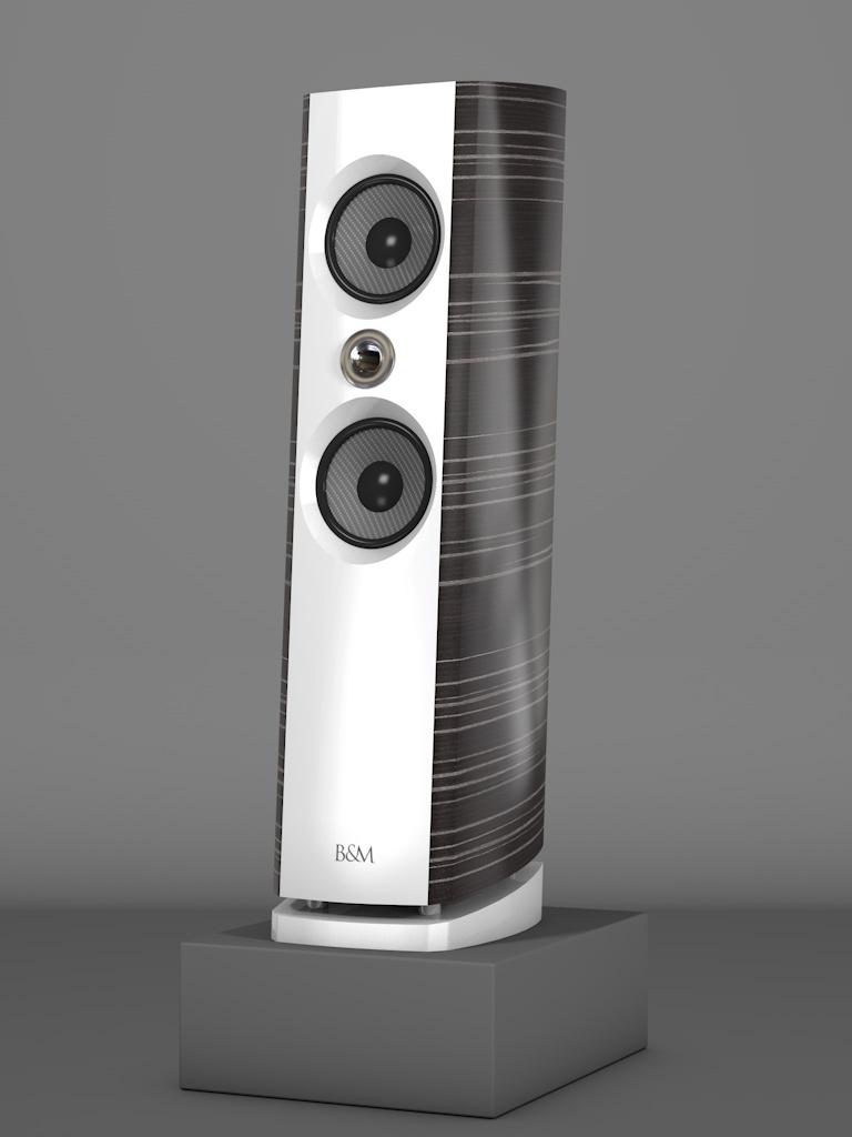 Prime6 - Ebenholz Grigio medium gloss - FFD Bianco Crema - HT Silber - Side