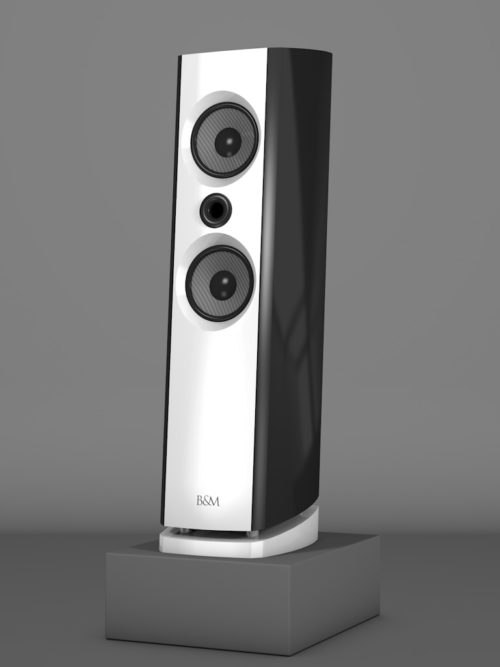 Prime6 - Negro Intenso - FFD Bianco Crema - HT Schwarz - Side