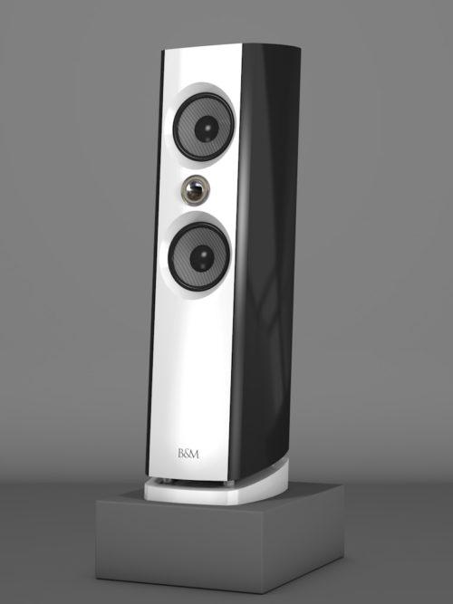 Prime6 - Negro Intenso - FFD Bianco Crema - HT Silber - Side