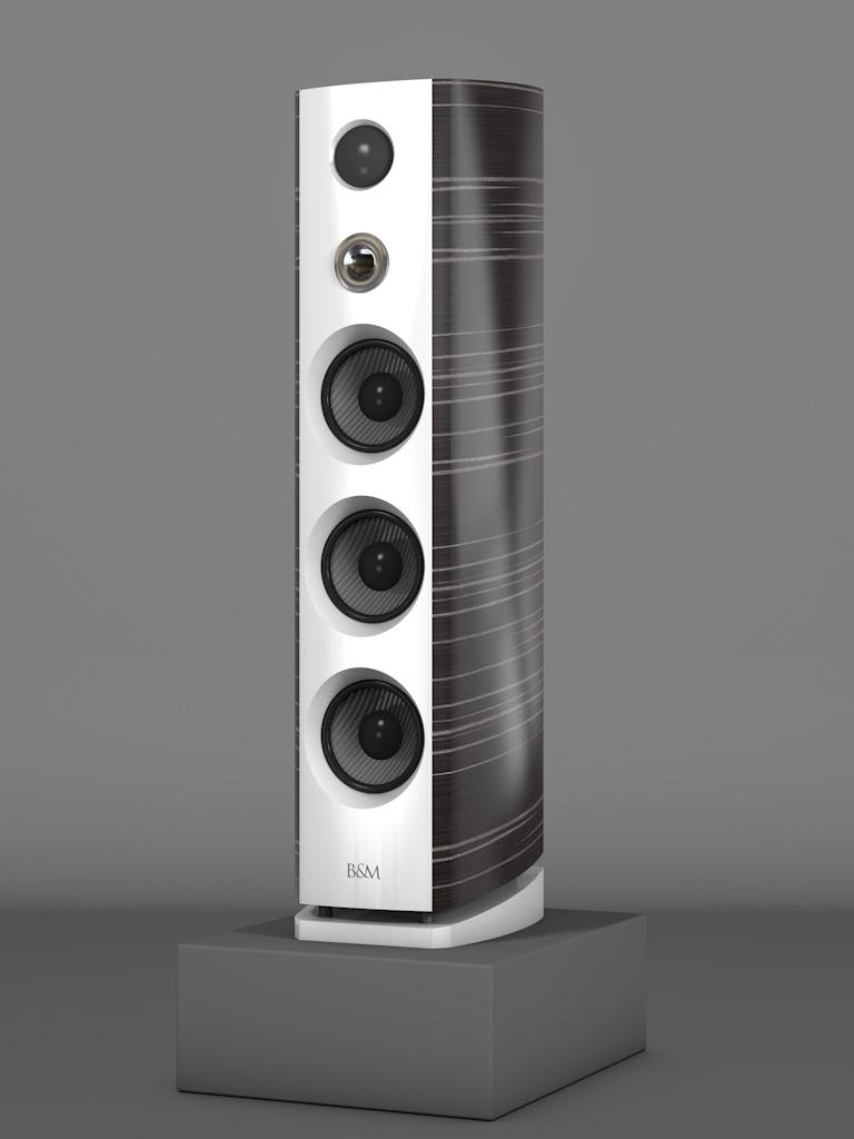 Prime12 - Ebenholz Grigio medium gloss - FFD Bianco Crema - HT Silber - Side