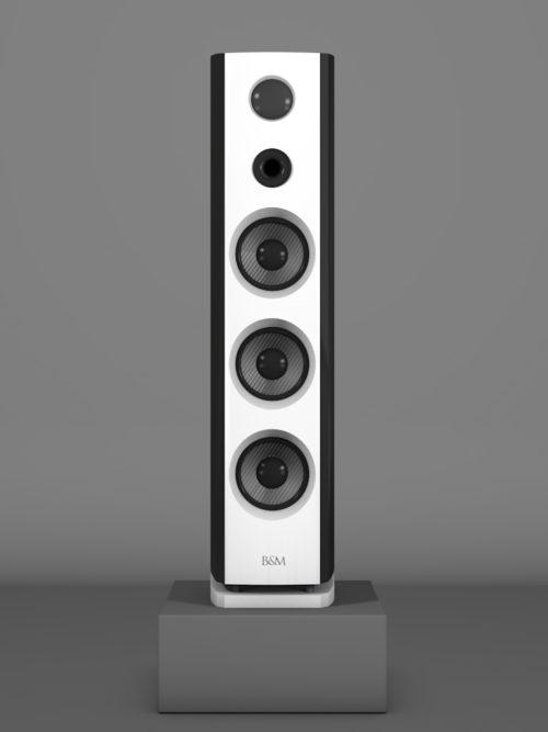Prime12 - Negro Intenso - FFD Bianco Crema - HT Schwarz - Front