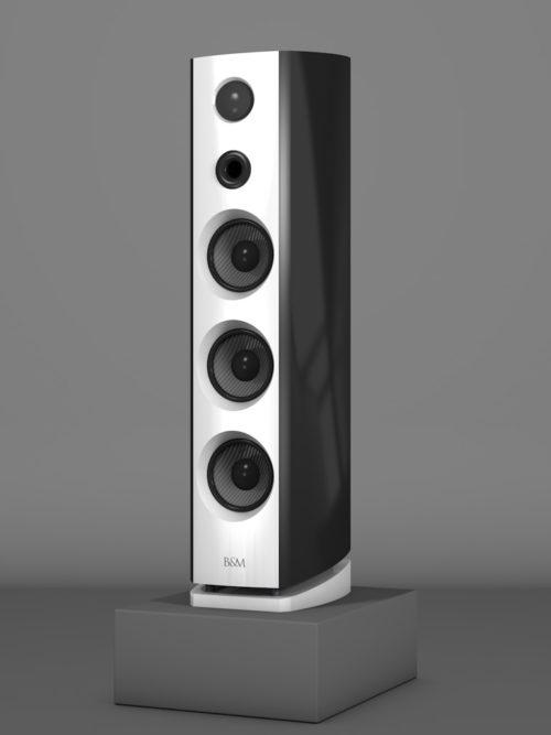 Prime12 - Negro Intenso - FFD Bianco Crema - HT Schwarz - Side