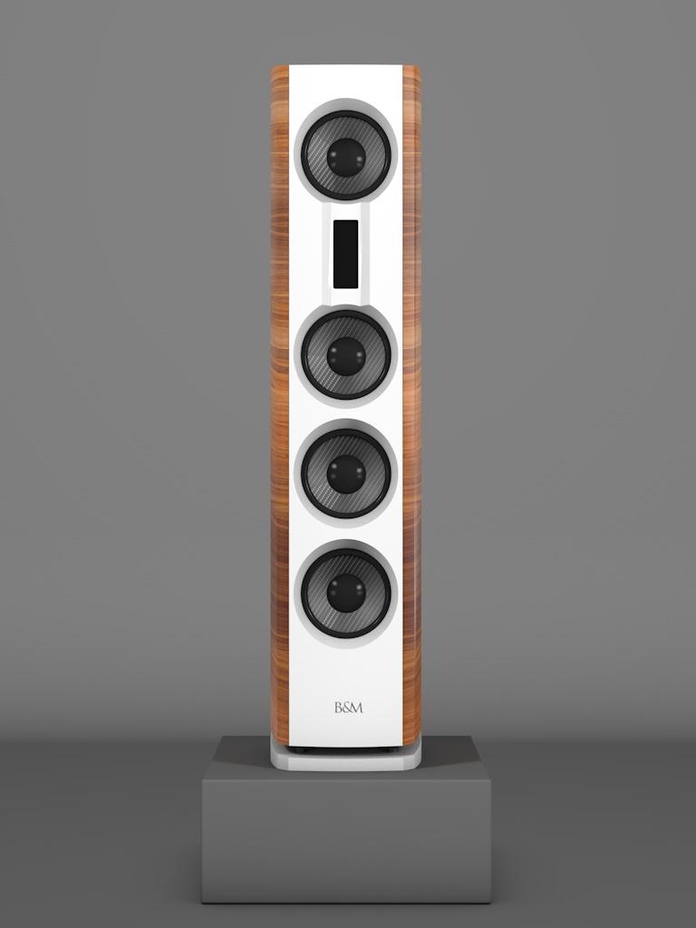 Prime14 - Amerikanischer Nussbaum medium gloss - FFD Bianco Crema - Front