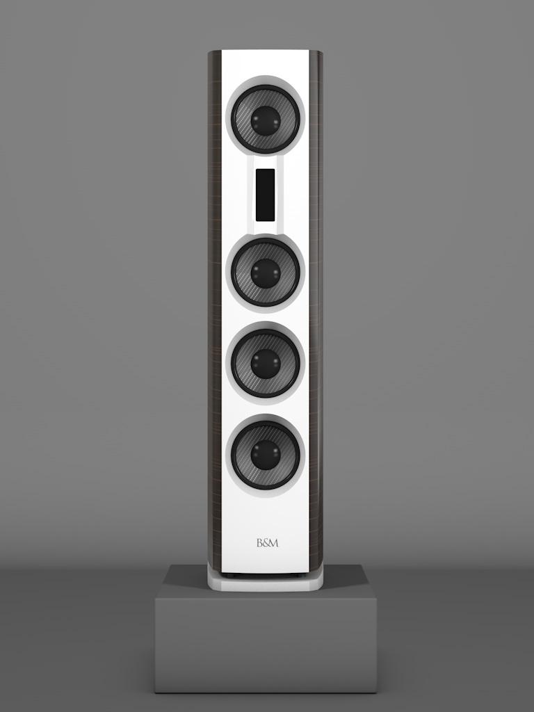 Prime14 - Ebenholz Moro medium gloss - FFD Bianco Crema - Front