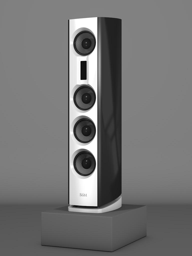 Prime14 - Negro Intenso - FFD Bianco Crema - Side